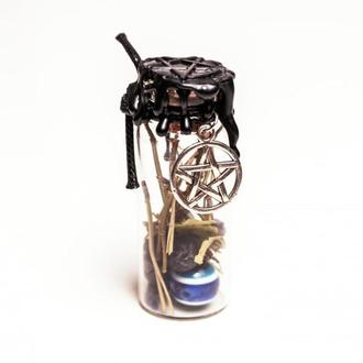 Оберег ведьмина бутылка для защиты от негатива