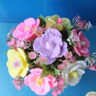 В наличии букет цветов из мыла
