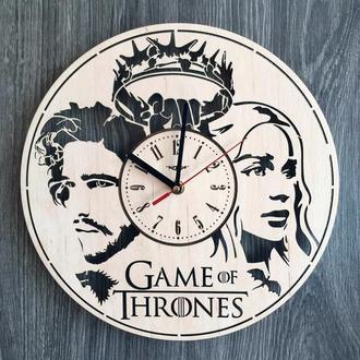 Концептуальные деревянные часы «Игра престолов»