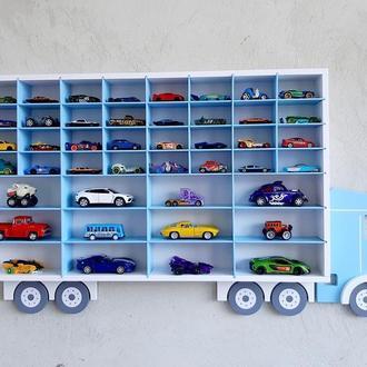 Машина полка, полка гараж, парковка для машин