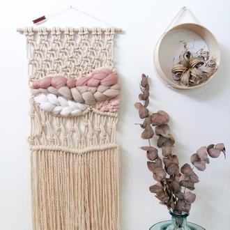 Макраме панно, настенный декор