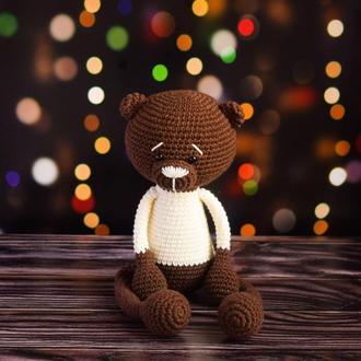 Мишка. Подарок новорождённому. Первая игрушка. Интерьерная игрушка