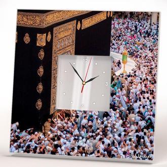 """Авторские часы с фото """"Мекка. Хадж. Кааба. Ислам"""""""