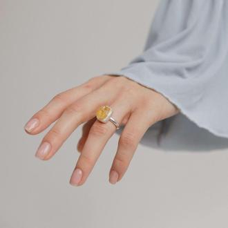 Кольцо Особенное с цитрином