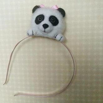"""Дитячий обруч """"Маленька панда"""""""