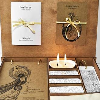 Набор для медитивного рисования Draw Wing Zen