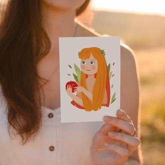 Листівка Єва