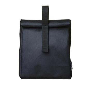 Термосумка, ланч бег, ланч бокс, термоланчбег, lunch bag Ролтоп черный