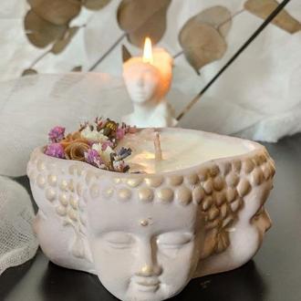 """Ароматические свечи """"Мантра Будды"""" с эфирными маслами для медитации"""