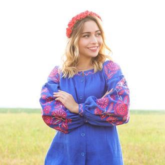 Платье в этно-стиле