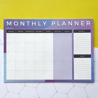 Планинг на месяц на магните