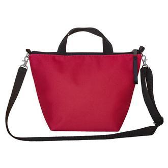 Термосумка, ланч бег, ланч бокс, термоланчбег, lunch bag Зипер красная Топ-10%