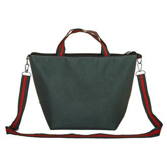 Термосумка, ланч бег, ланч бокс, термоланчбег, lunch bag Зипер зеленый