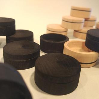 Шашки набор из 26 фишек  диаметром 30 мм