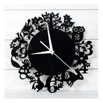 "Настенные часы  ""Лесные Зверята "" 40 см"