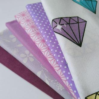 Набор ткани для рукоделия из 6 шт.