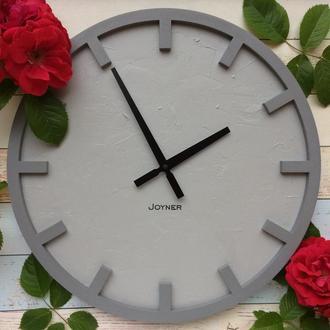 Деревянные часы в стиле Лофт