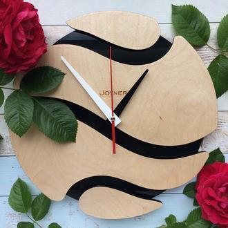Деревянные часы Шар