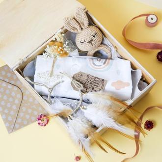 Подарок на выписку/ подарок малышу/ детский подарочный набор/ baby box