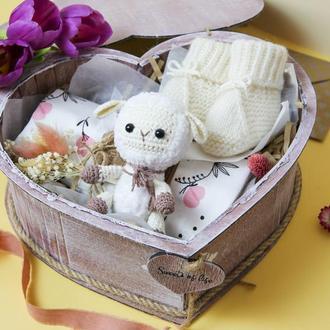 Подарок на выписку/ подарок малышу/ детский подарочный набор/ baby box №2