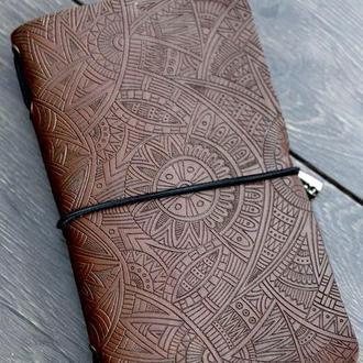 """Блокнот путешественника Classic """"Средневековый орнамент""""."""
