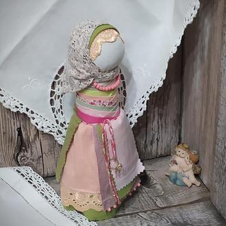 """Кукла-оберег, мотанка На удачное замужество"""" с обручальным кольцом"""