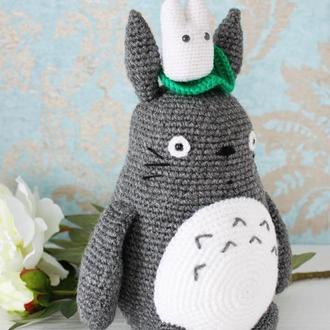 "Мягкая игрушка-сувенир ""Мой сосед Тоторо"" и мини-Totoro фанатам Студии Гибли и Хаяо Миядзаки."