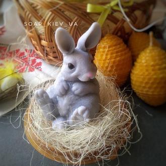 Мыло пасхальный кролик.Подарок на Пасху