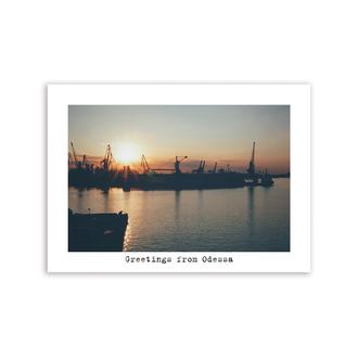 Листівка «Greetings from Odessa»