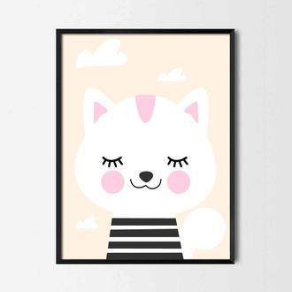 Постер для детской Котенок