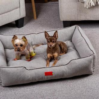 Лежак для собак и кошек Pets Lounge Classic M, серый