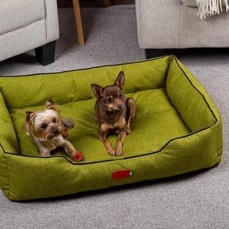 Лежак для собак и кошек Pets Lounge Classic M, зелёный