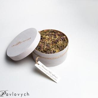"""Травяной чайный сбор """"Мятный Лев"""" от семейного чайного бренда Lev Pavlovych"""