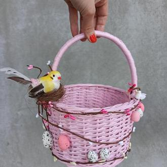 Детский пасхальный корзина для девочек