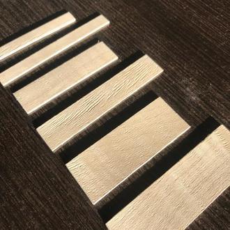 деревянный фитиль 80мм/20мм