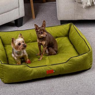 Лежак для собак и кошек Pets Lounge Classic L, зелёный