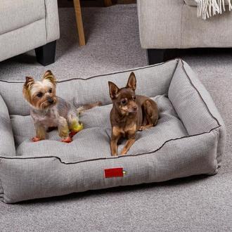 Лежак для собак и кошек Pets Lounge Classic L, серый
