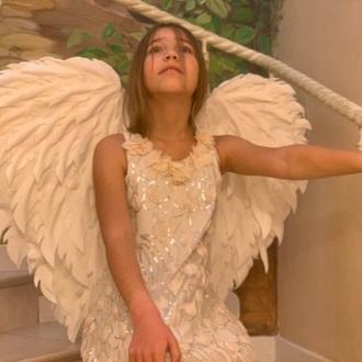 Крила Ангела шикарні великі білі для фотосесій
