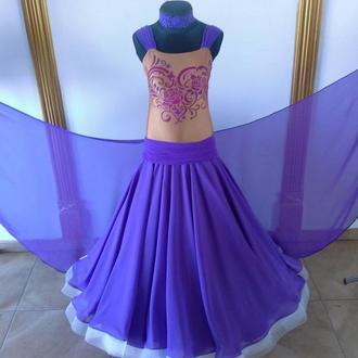 Платье для бальных танцев -стандарт