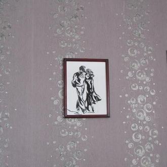 Серия картин вышитая крестиком