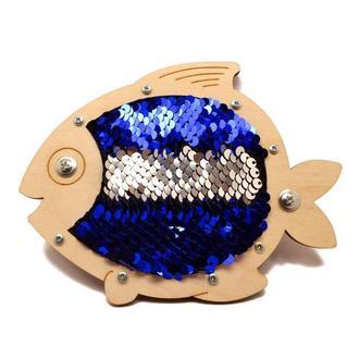 Рыба под пайетки для бизиборда 150х115мм