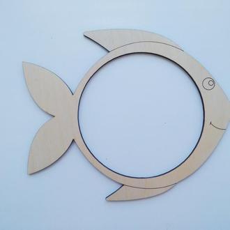 Рыбка для пайеток для бизиборда 195х165мм