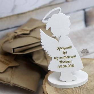 Ангелочек-сувенир, подарок крестной, подарок крестному