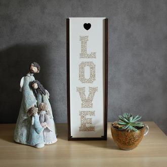коробка под винную бутылку LOVE