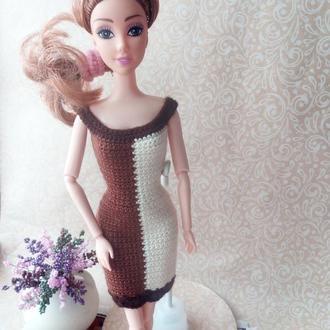 Одежда для кукол Барби. Платье Гармония