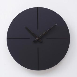 Годинник на стіну Round 1, чорний