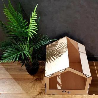 Эко-домик для кота или небольшой собаки