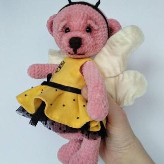 Мишка. Пчелка. Мягкая игрушка