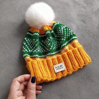 Весняна шапка для хлопчика