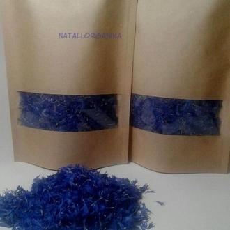 Краевый цвет василька(лепесток)